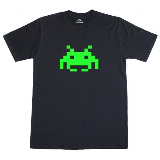 Space Invader Glow In The Dark T-Shirt