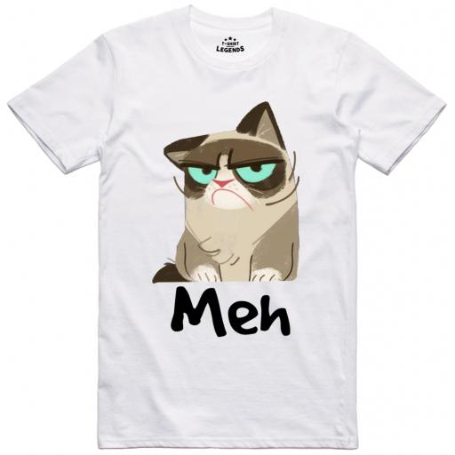 Grumpy Cat Meh T Shirt