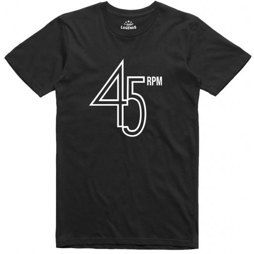 45 RPM Retro Music T Shirt