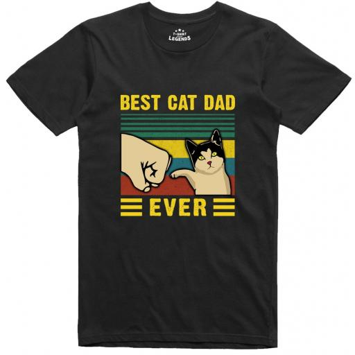 Cat Dad T Shirt