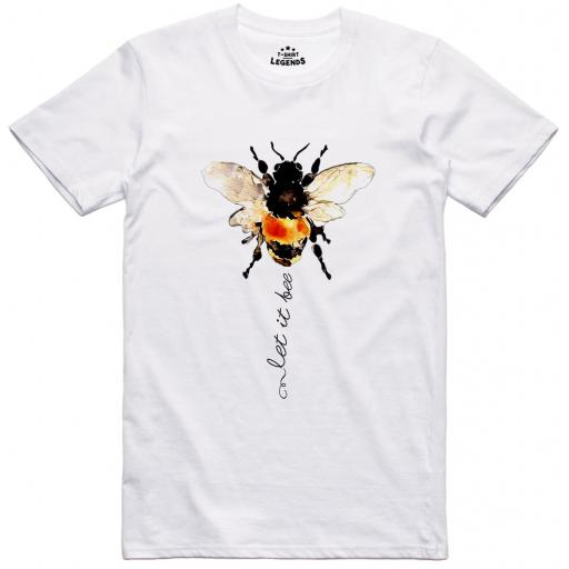 Cartoon Bee T Shirt - Let It Bee