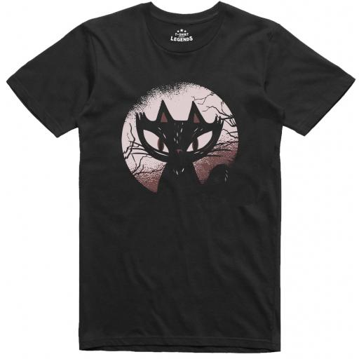 Spooky Cat T Shirt
