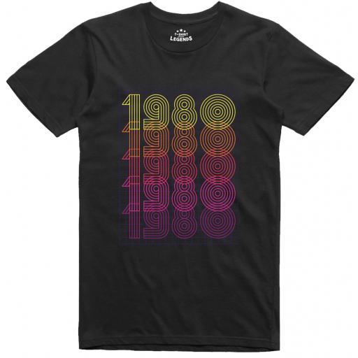 1980 Retro T Shirt